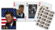 JFK set of 52 (+ jokers) playing cards    (gib)